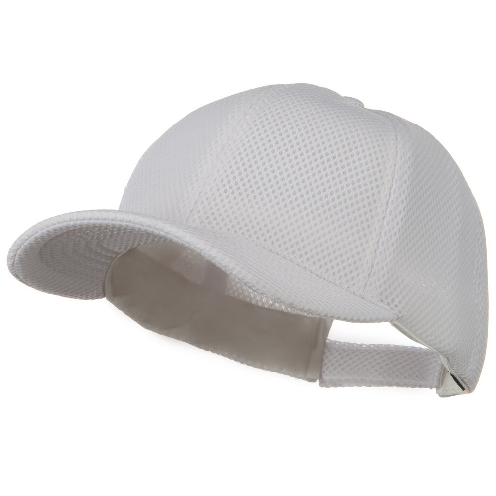 360 Degree Air Mesh Cap - White