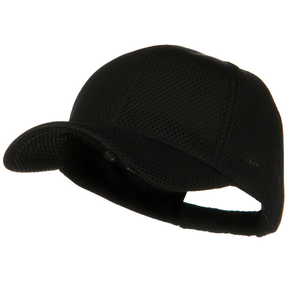 360 Degree Air Mesh Cap - Black - Hats and Caps Online Shop - Hip Head Gear