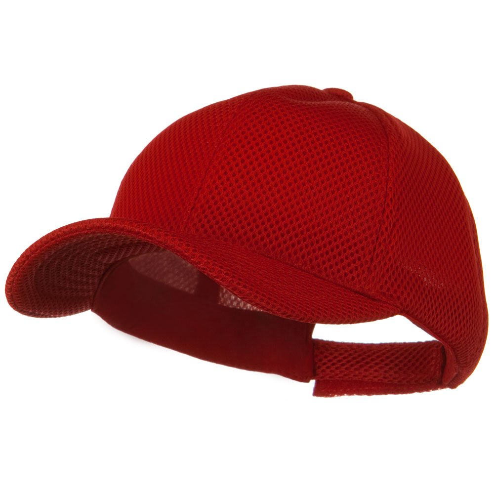 360 Degree Air Mesh Cap - Red