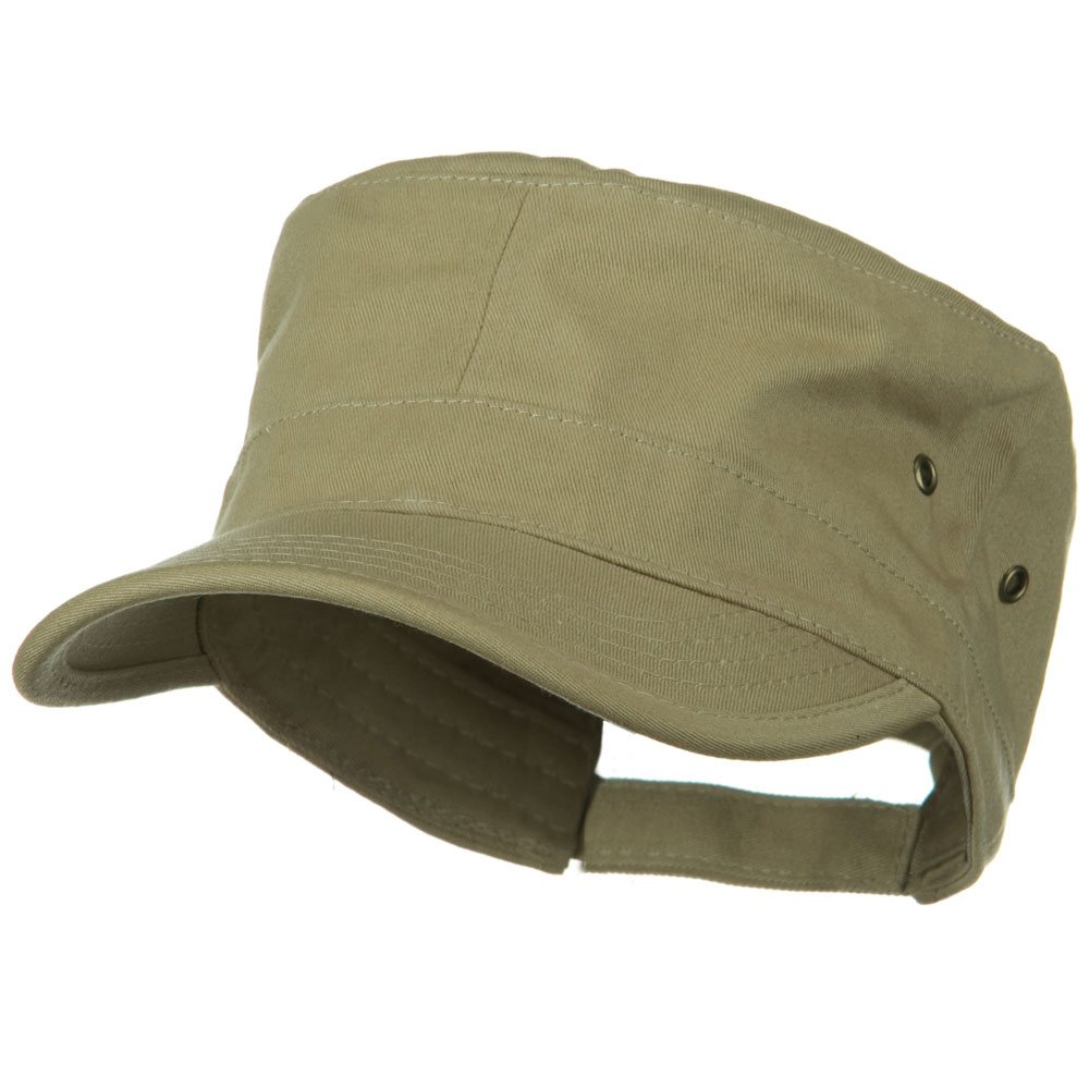 Adjustable Trendy Army Style Cap - Desert Khaki - Hats and Caps Online Shop - Hip Head Gear