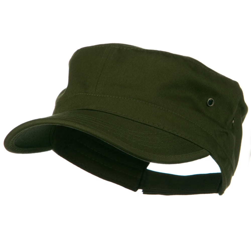 Adjustable Trendy Army Style Cap - Army Olive - Hats and Caps Online Shop - Hip Head Gear