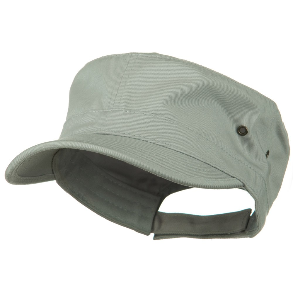 Adjustable Trendy Army Style Cap - Grey - Hats and Caps Online Shop - Hip Head Gear