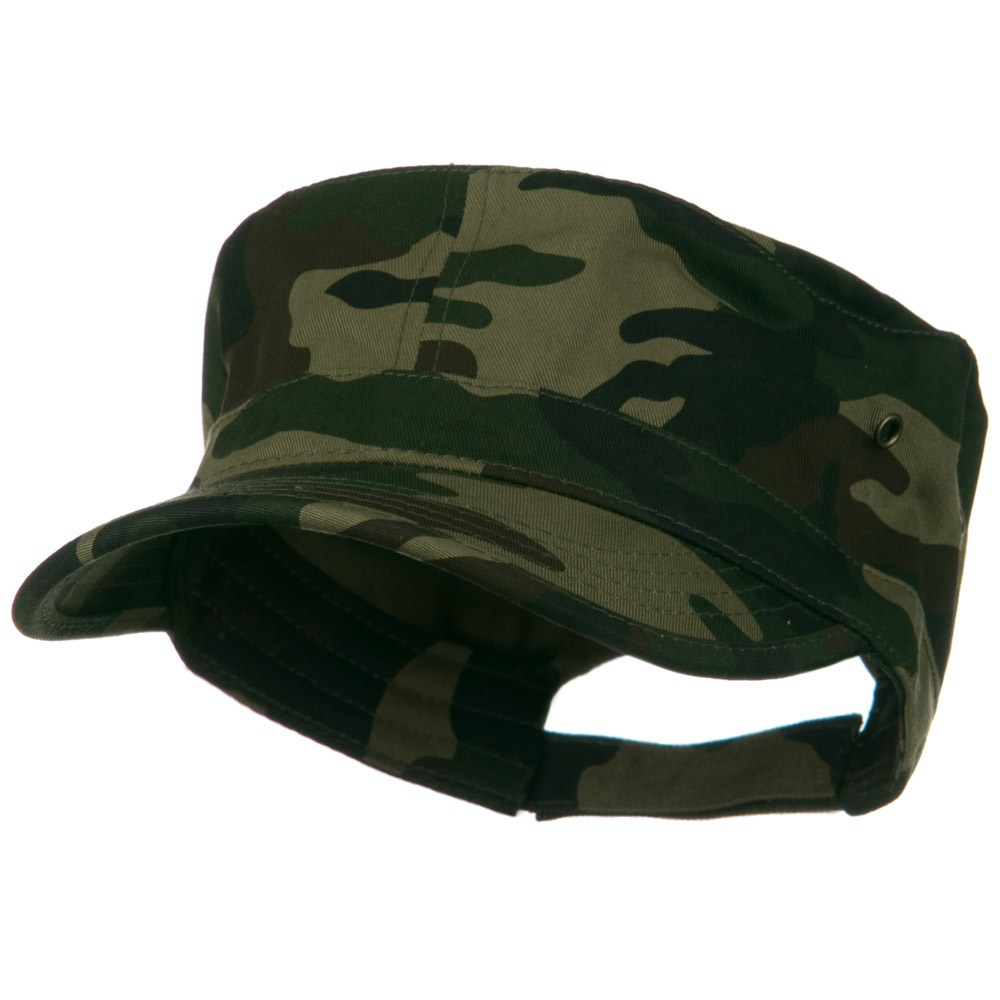Adjustable Trendy Army Style Cap - Camo - Hats and Caps Online Shop - Hip Head Gear