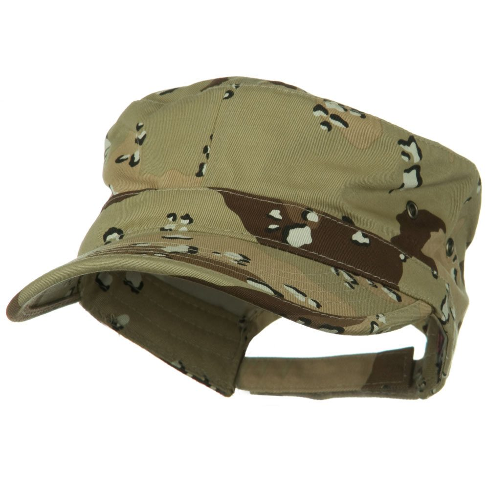 Adjustable Trendy Army Style Cap - Desert Camo - Hats and Caps Online Shop - Hip Head Gear