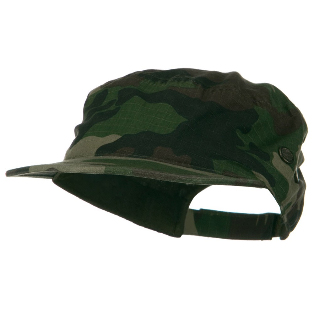 Rip Stock Hex Billed Military Cap - Camo - Hats and Caps Online Shop - Hip Head Gear