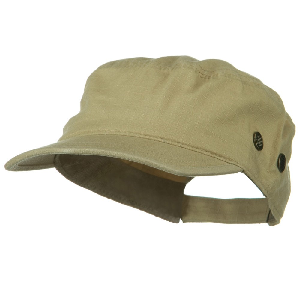Rip Stock Hex Billed Military Cap - Desert - Hats and Caps Online Shop - Hip Head Gear