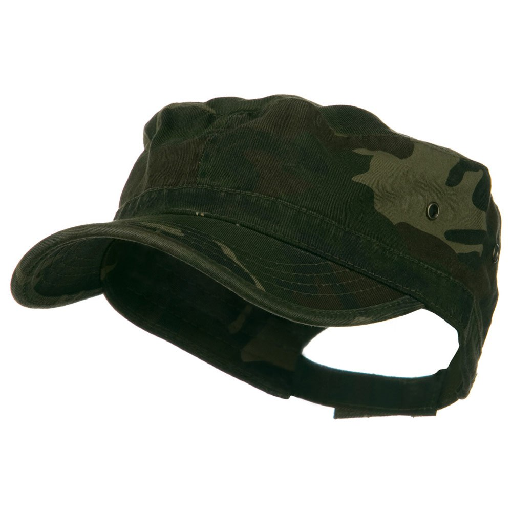 Washed Military Hat-Camo - Hats and Caps Online Shop - Hip Head Gear