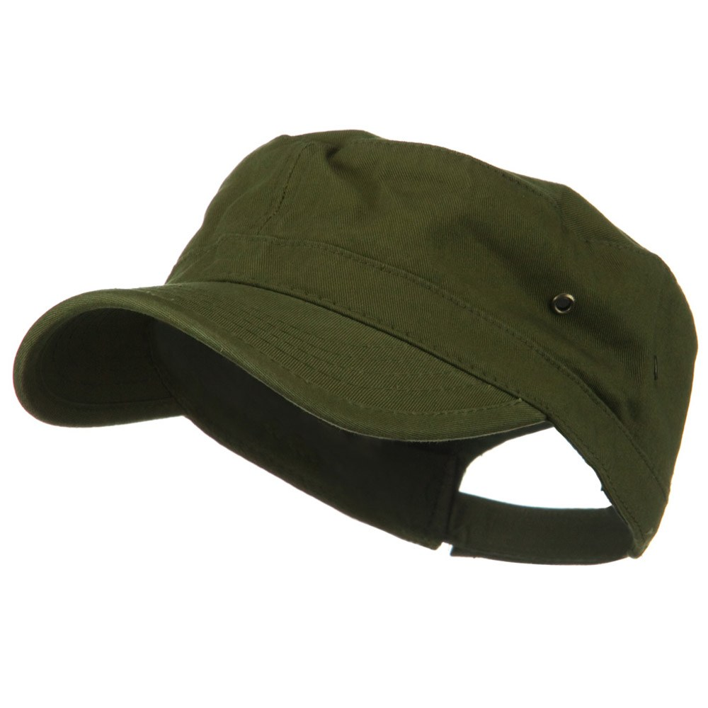 Washed Military Hat-Army Olive - Hats and Caps Online Shop - Hip Head Gear