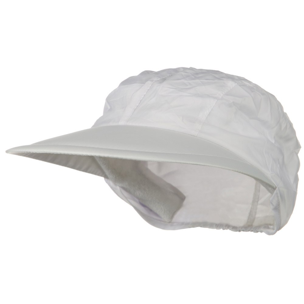 Convertible Clip On Visor - White - Hats and Caps Online Shop - Hip Head Gear