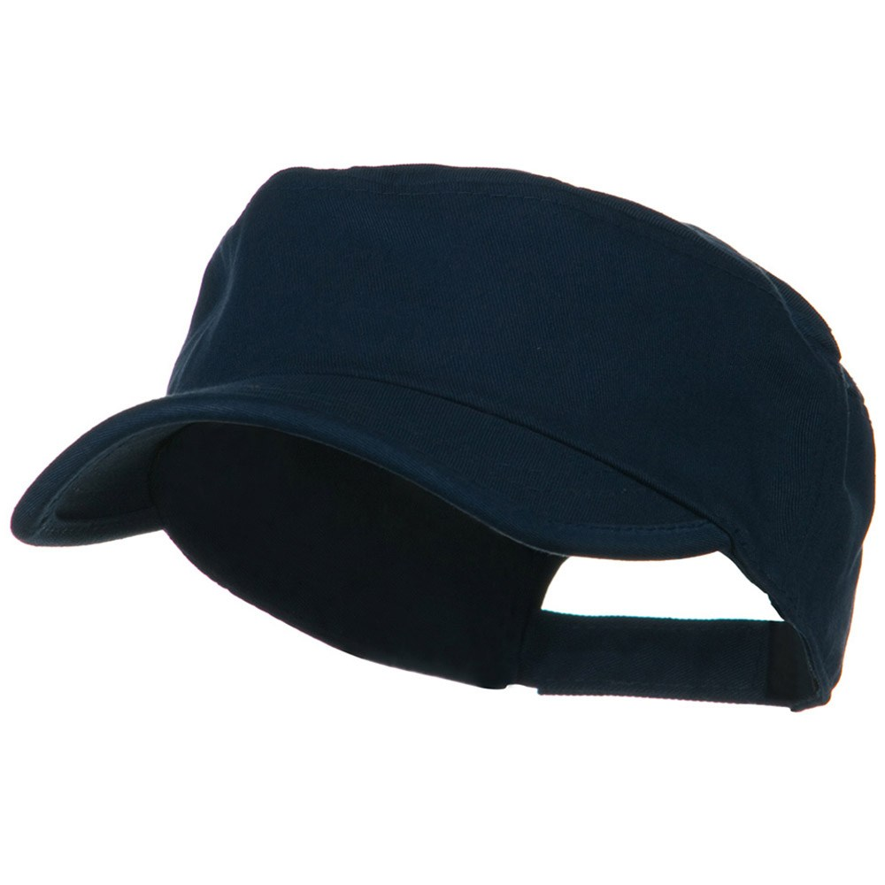 Imprintable Military Cap - Navy - Hats and Caps Online Shop - Hip Head Gear