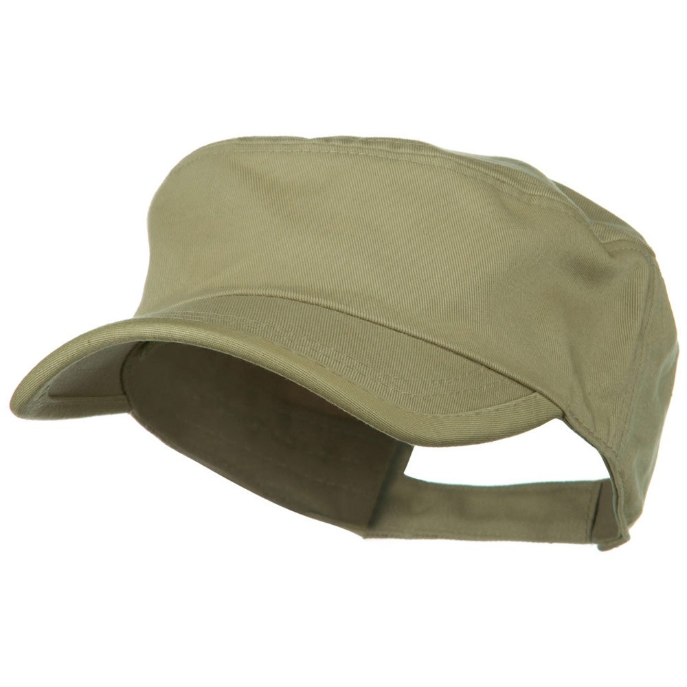 Imprintable Military Cap - Khaki - Hats and Caps Online Shop - Hip Head Gear