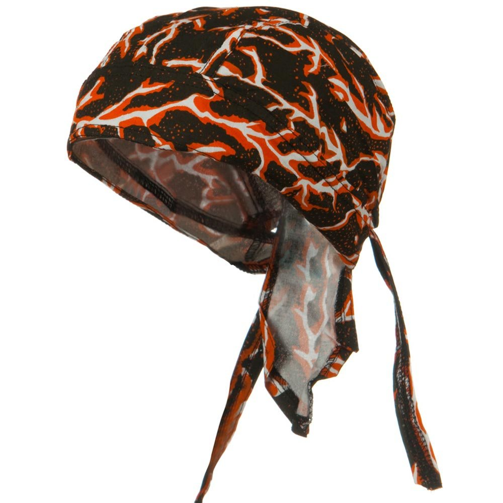 Bike Series Headwraps-Lightning Orange - Hats and Caps Online Shop - Hip Head Gear
