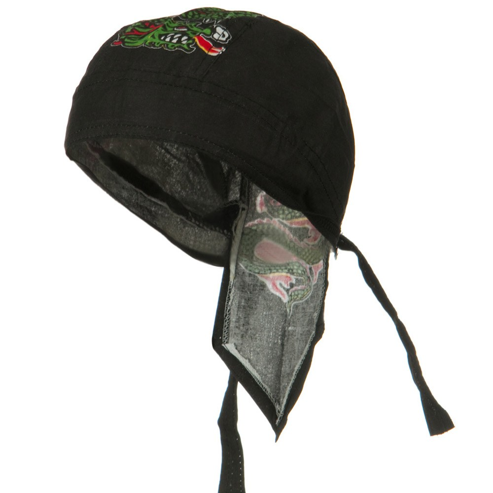 Novelty Series Headwraps-Dragon - Hats and Caps Online Shop - Hip Head Gear