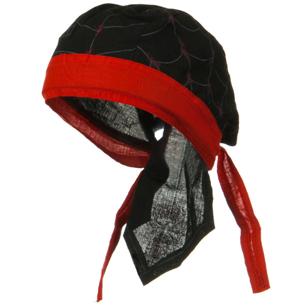 Novelty Series Headwraps-Spider Print - Hats and Caps Online Shop - Hip Head Gear