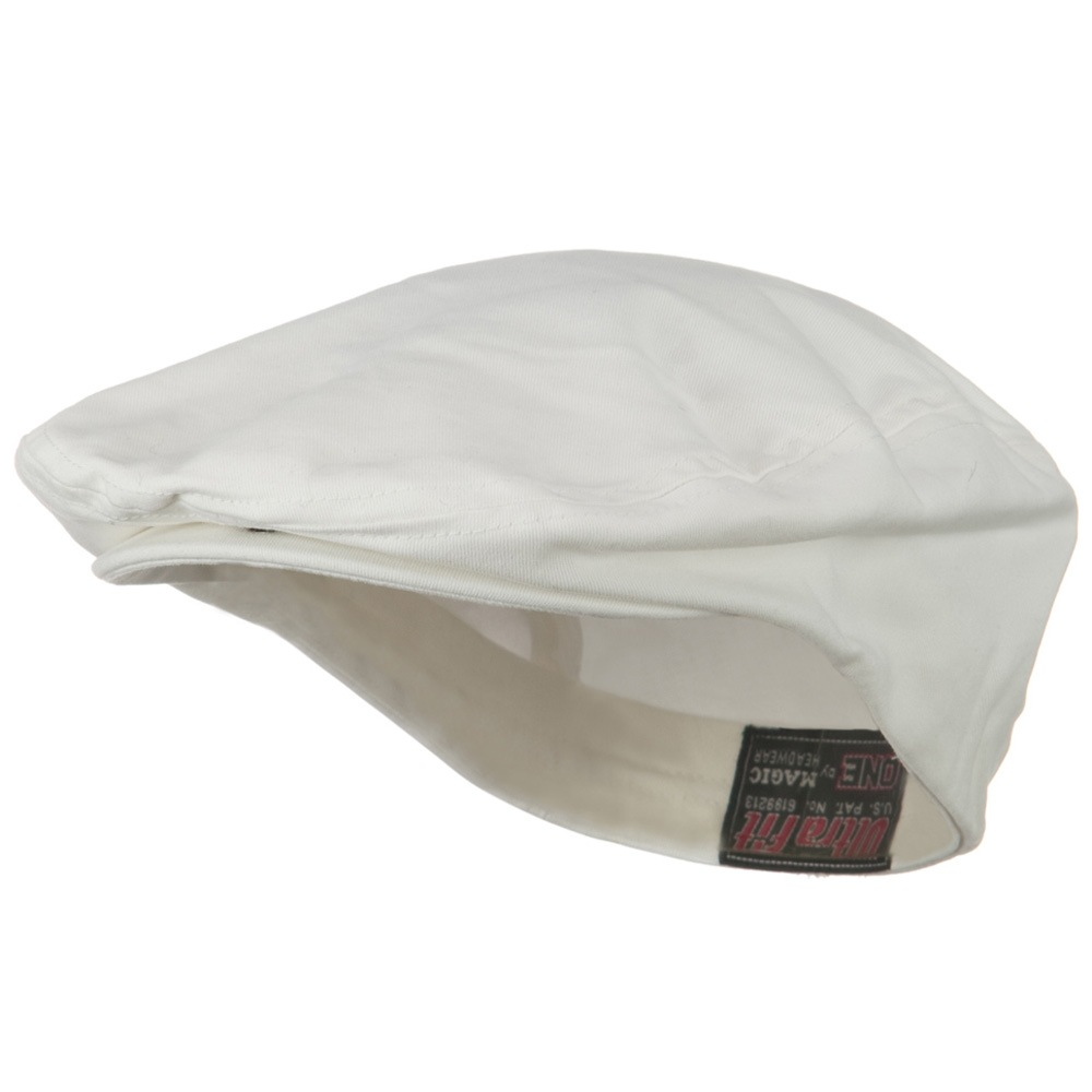 Ultra Fit One Gatsby Caps-White - Hats and Caps Online Shop - Hip Head Gear