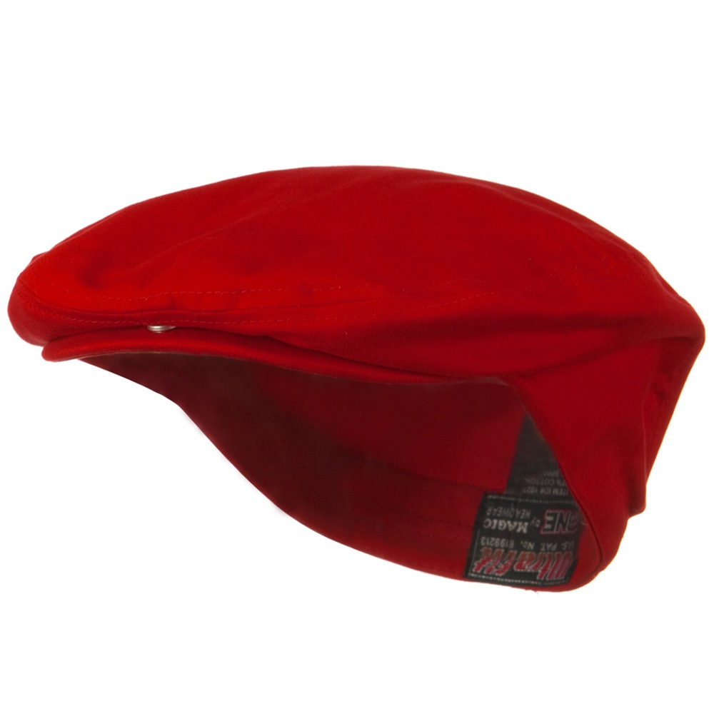 Ultra Fit One Gatsby Caps-Red - Hats and Caps Online Shop - Hip Head Gear