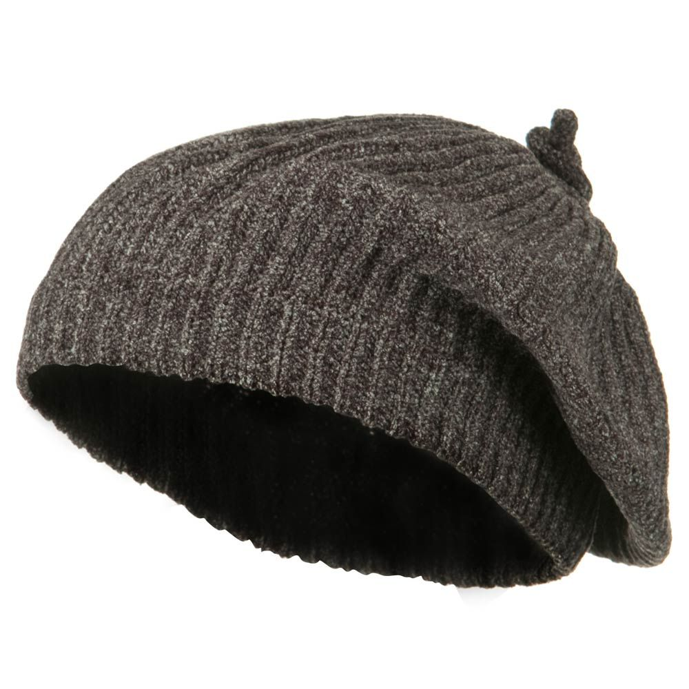 Chenille Knitted Cap - Brown - Hats and Caps Online Shop - Hip Head Gear