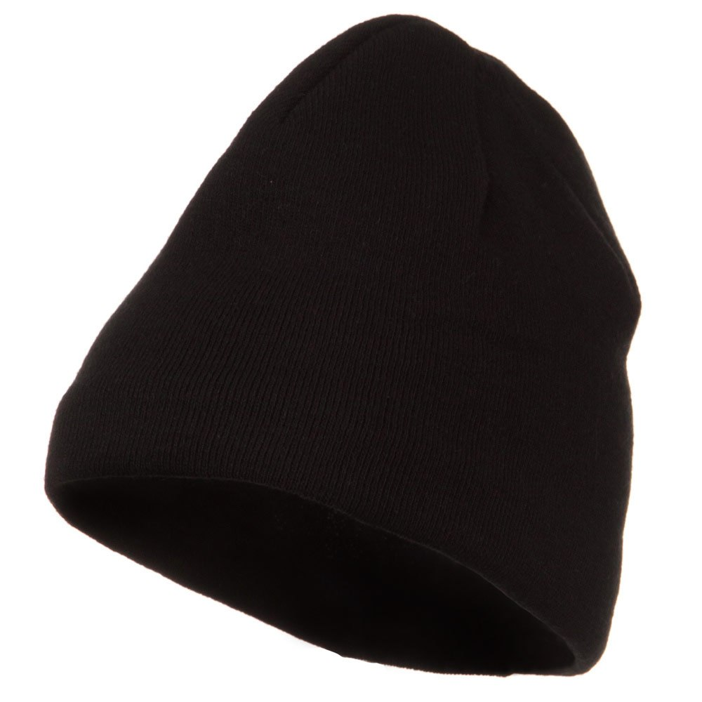 Cool Max Plain Color Beanie - Black - Hats and Caps Online Shop - Hip Head Gear