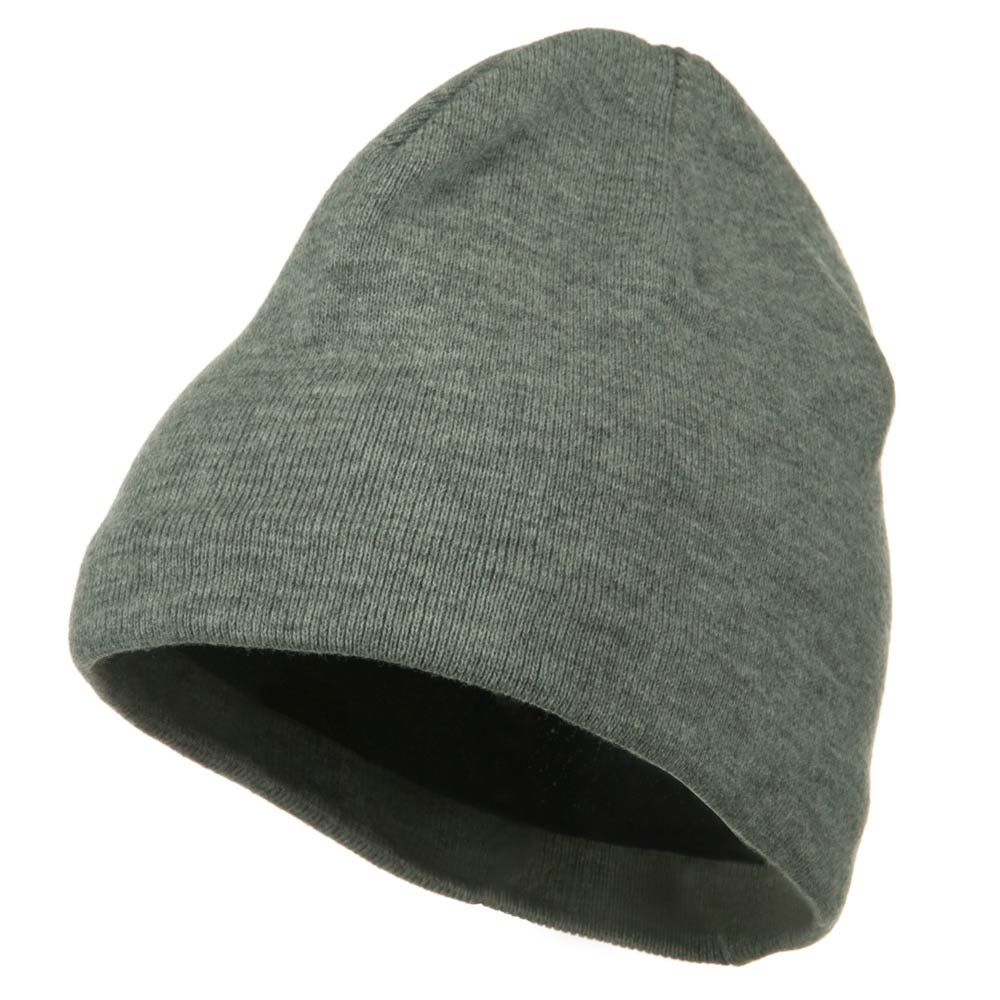 Cool Max Plain Color Beanie - Heather - Hats and Caps Online Shop - Hip Head Gear