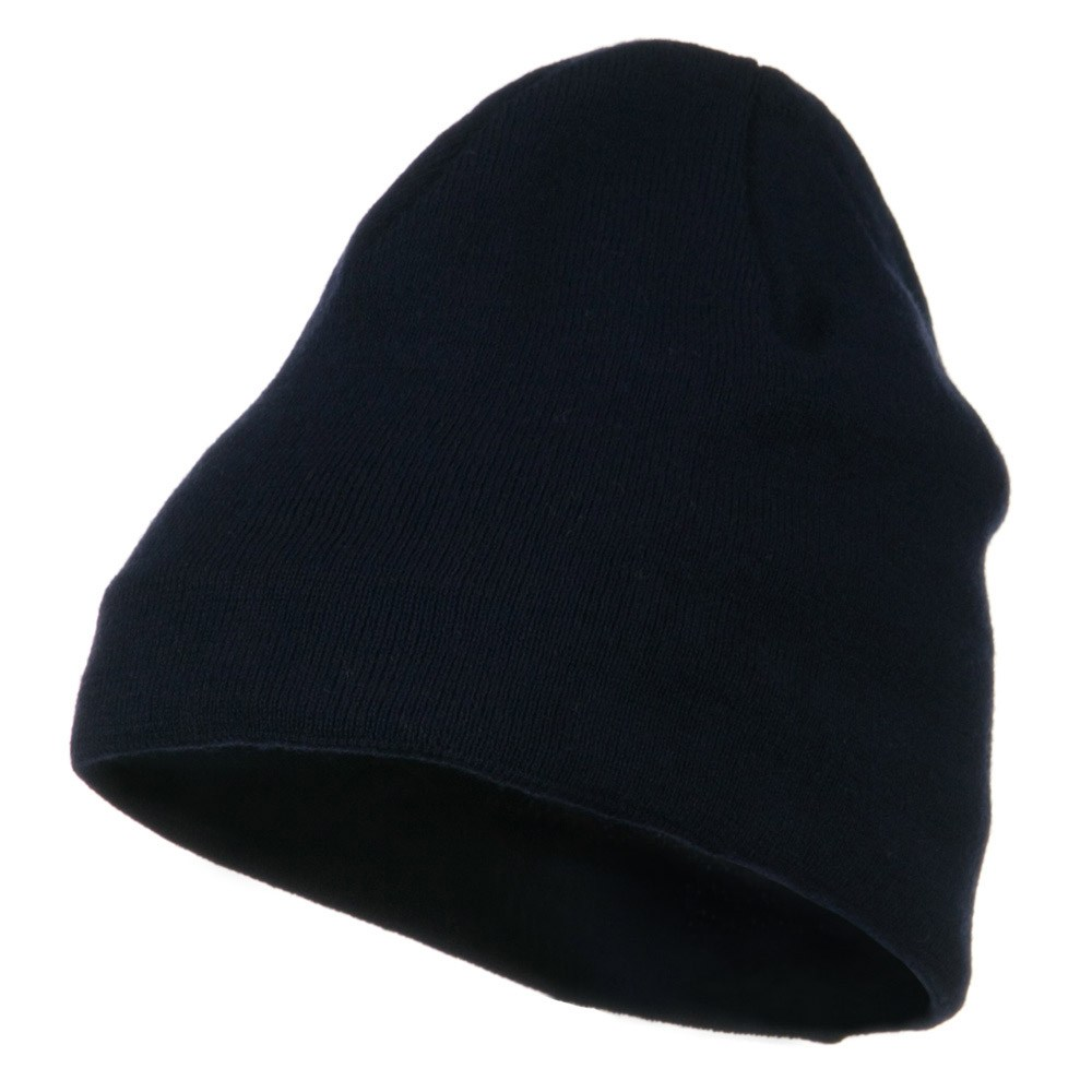 Cool Max Plain Color Beanie - Navy - Hats and Caps Online Shop - Hip Head Gear