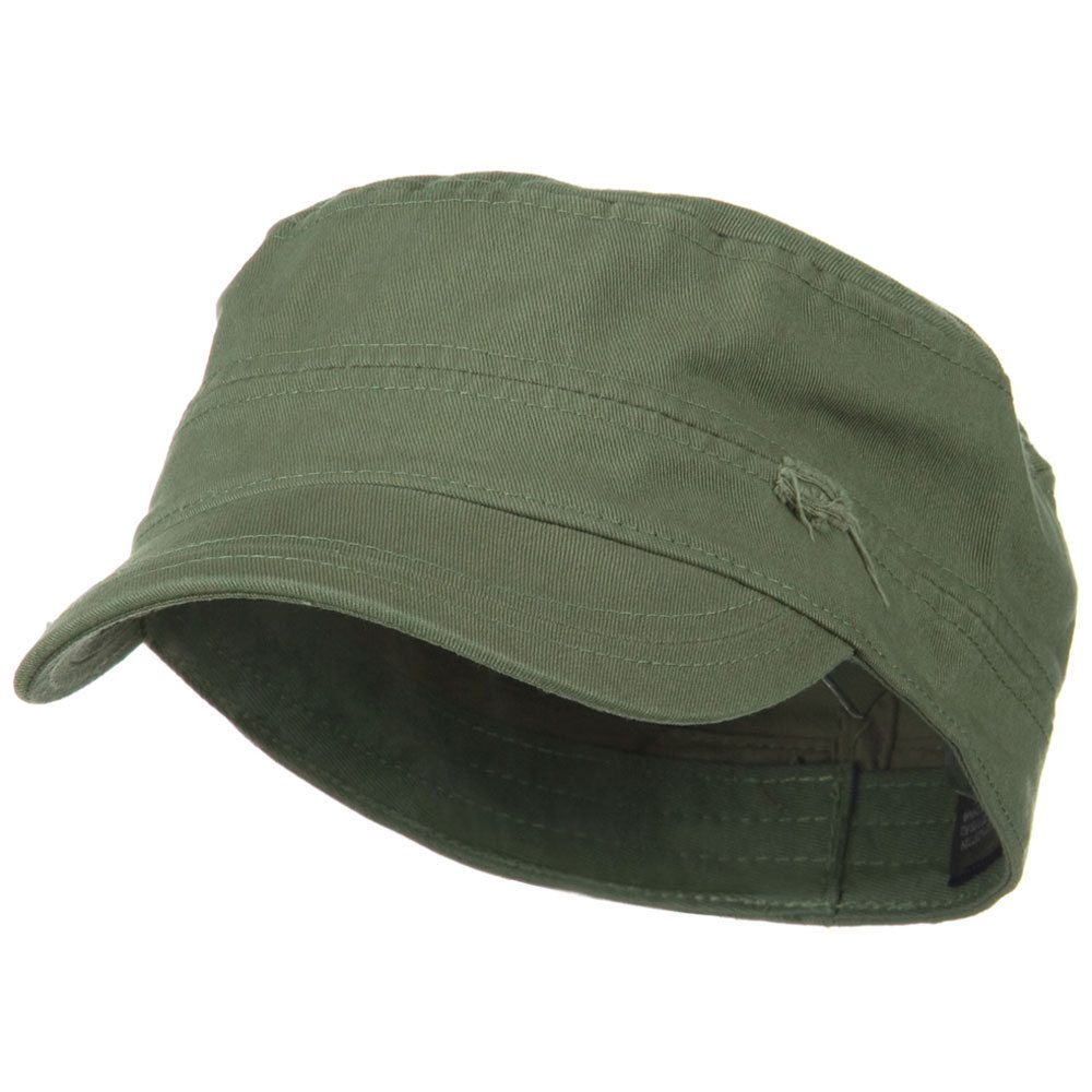 Star Cotton Army Cap-Olive - Hats and Caps Online Shop - Hip Head Gear