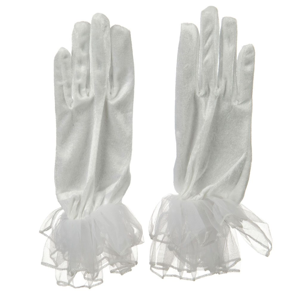 Organza Glove - White