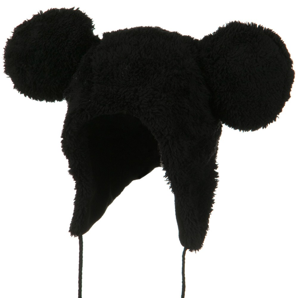 Micky Animal Hat - Black - Hats and Caps Online Shop - Hip Head Gear