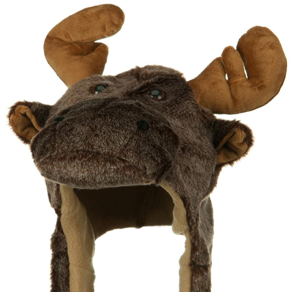 Fleece ML Animal Hat - Brown Buffalo - Hats and Caps Online Shop - Hip Head Gear
