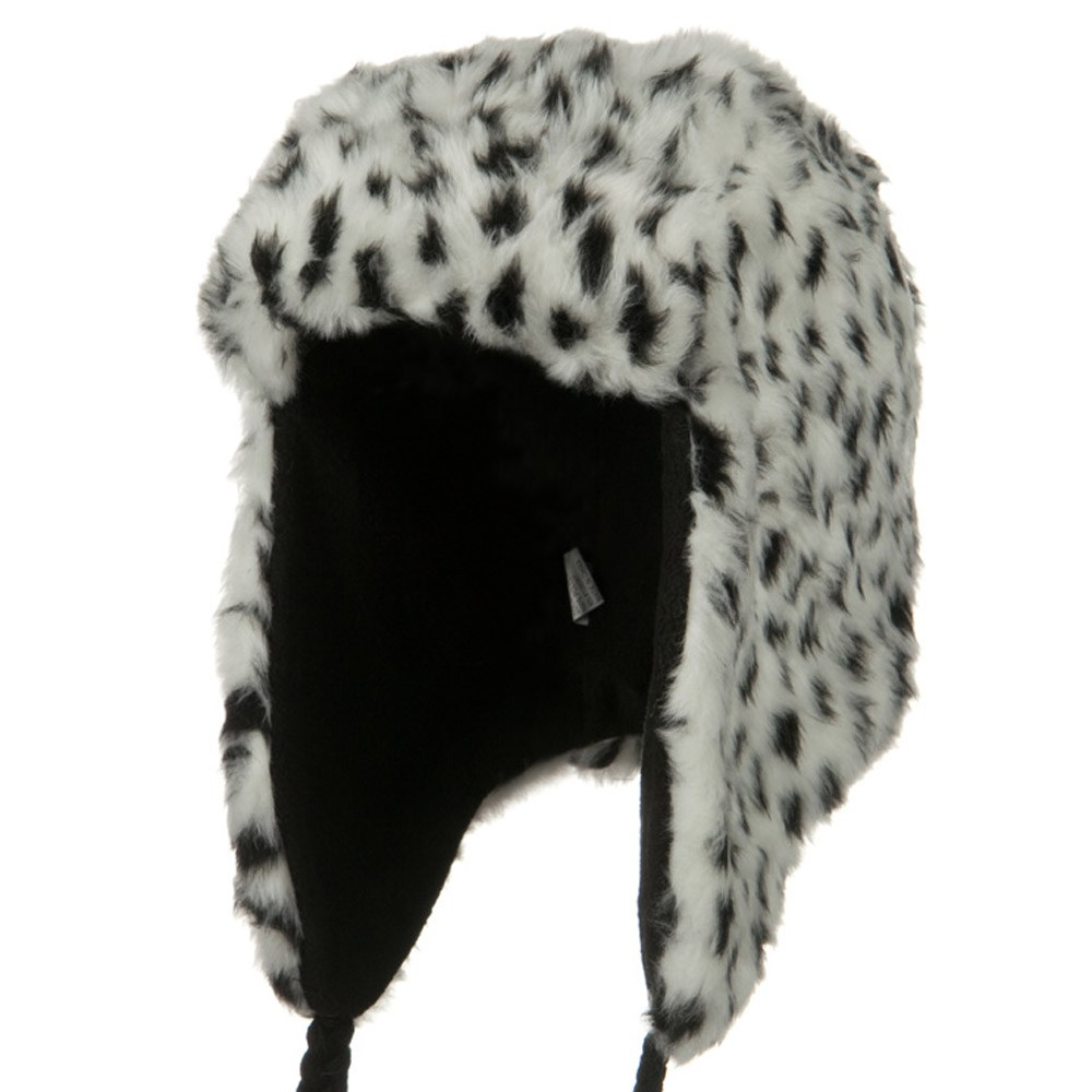 New Animal Fur Trooper Hat - White - Hats and Caps Online Shop - Hip Head Gear