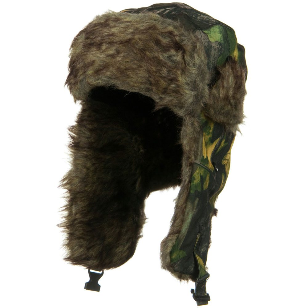 Fur Lining Camouflage Trooper - Yellow Camo - Hats and Caps Online Shop - Hip Head Gear