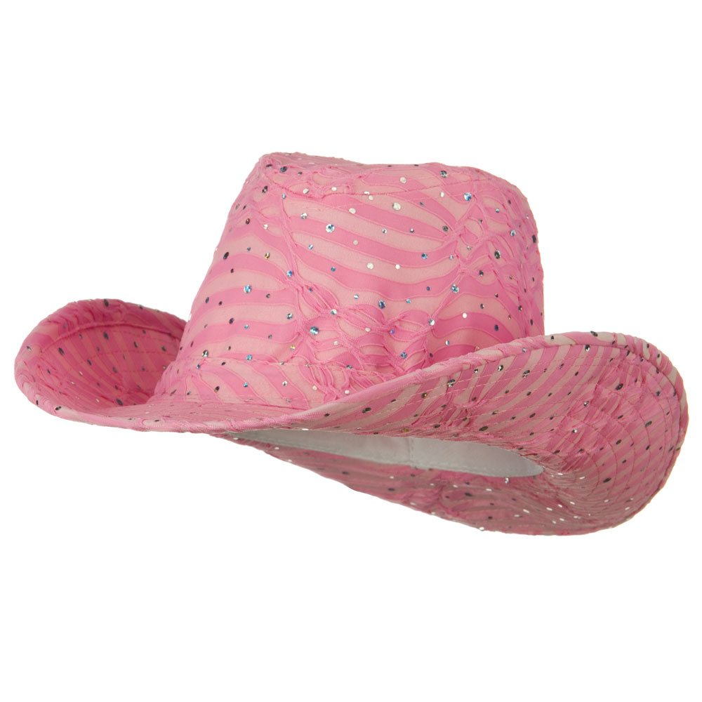 Glitter Cowboy Hat - Pink - Hats and Caps Online Shop - Hip Head Gear