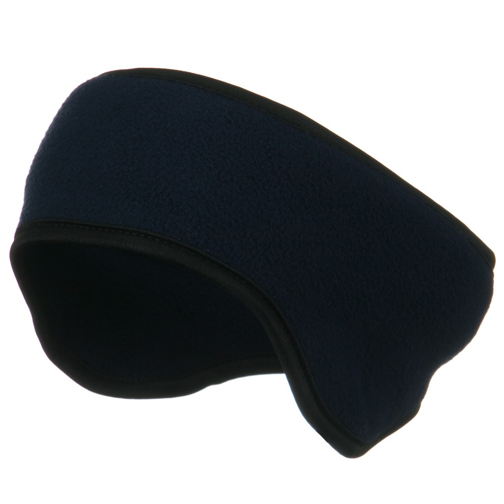 Adjustable Fleece Head Band - Navy - Hats and Caps Online Shop - Hip Head Gear