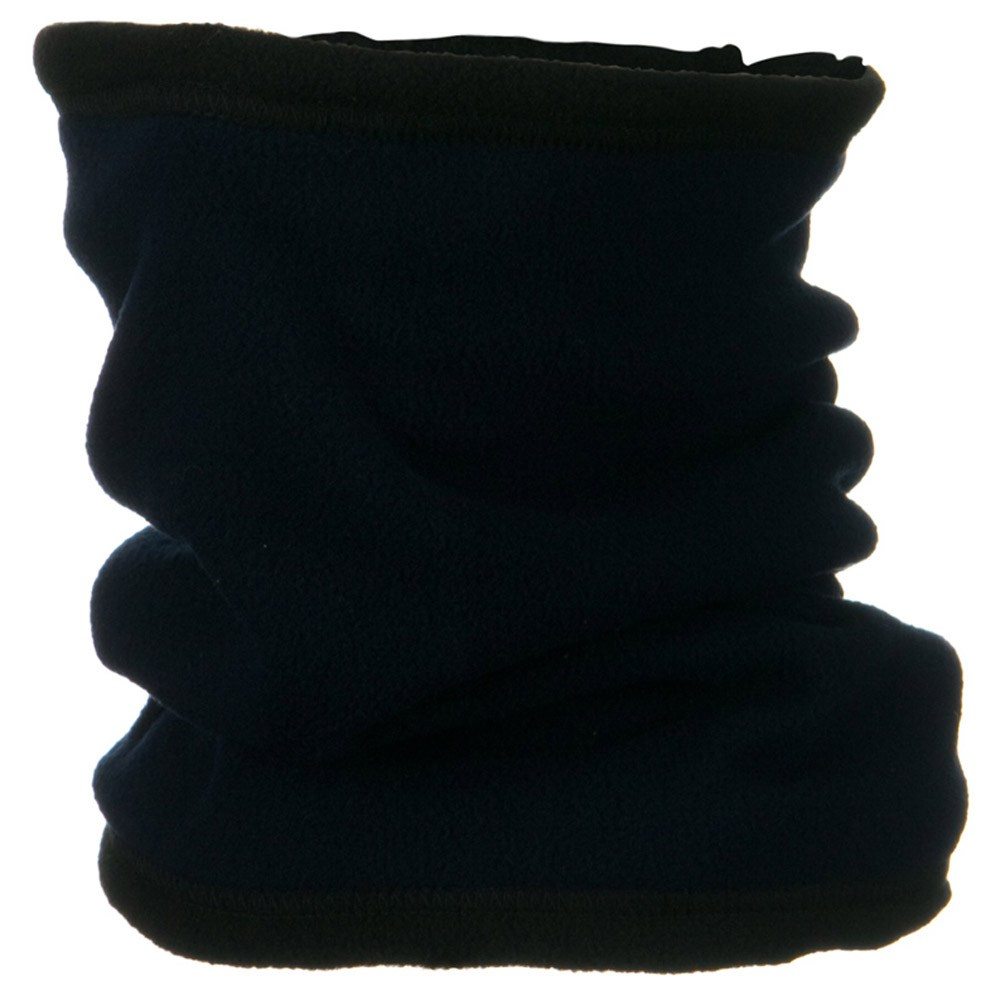 Convertible Fleece Neck Gaiter - Navy - Hats and Caps Online Shop - Hip Head Gear
