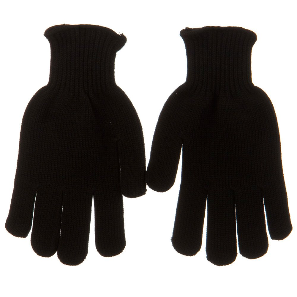 Grips Dot Acrylic Glove - Black