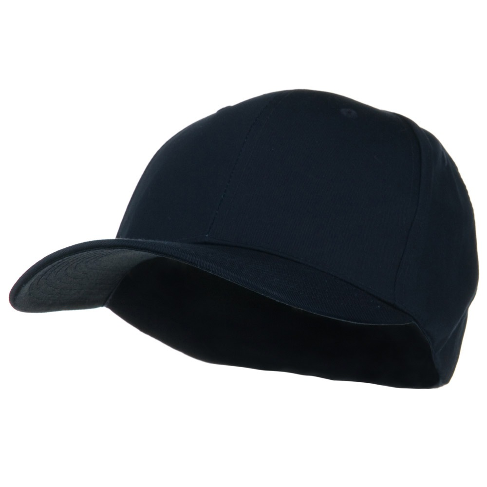 Extra Size Fitted Cotton Blend Cap - Navy - Hats and Caps Online Shop - Hip Head Gear