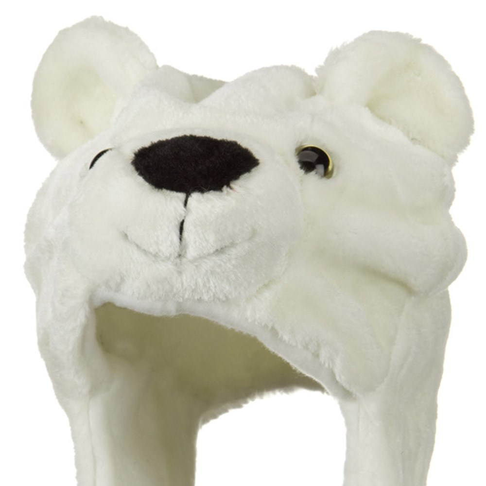 Polyester SW Animal Hat - Polar Bear - Hats and Caps Online Shop - Hip Head Gear