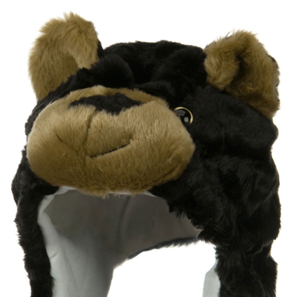Polyester SW Animal Hat - Black Bear - Hats and Caps Online Shop - Hip Head Gear
