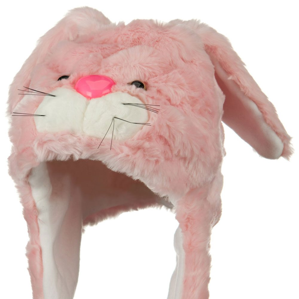 Polyester SW Animal Hat - Rabbit Pink - Hats and Caps Online Shop - Hip Head Gear