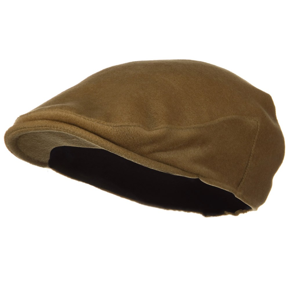 Big Wool Velvet Ivy Cap - Camel - Hats and Caps Online Shop - Hip Head Gear