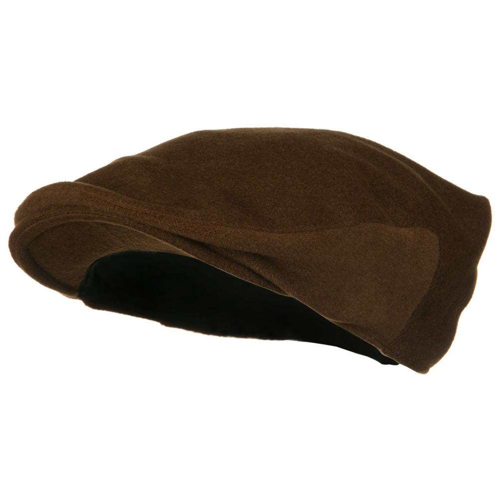 Big Wool Velvet Ivy Cap - Brown - Hats and Caps Online Shop - Hip Head Gear