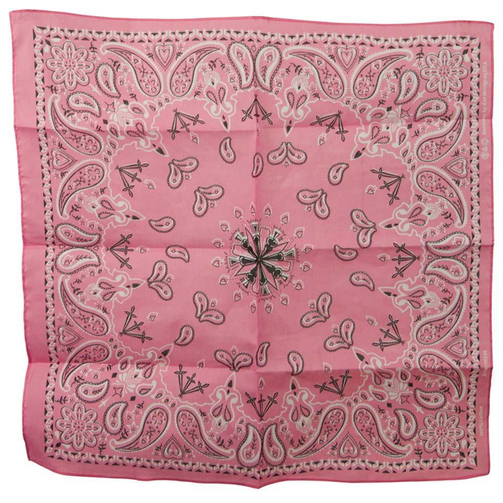 Pink New Paisley Bandanas - Hats and Caps Online Shop - Hip Head Gear
