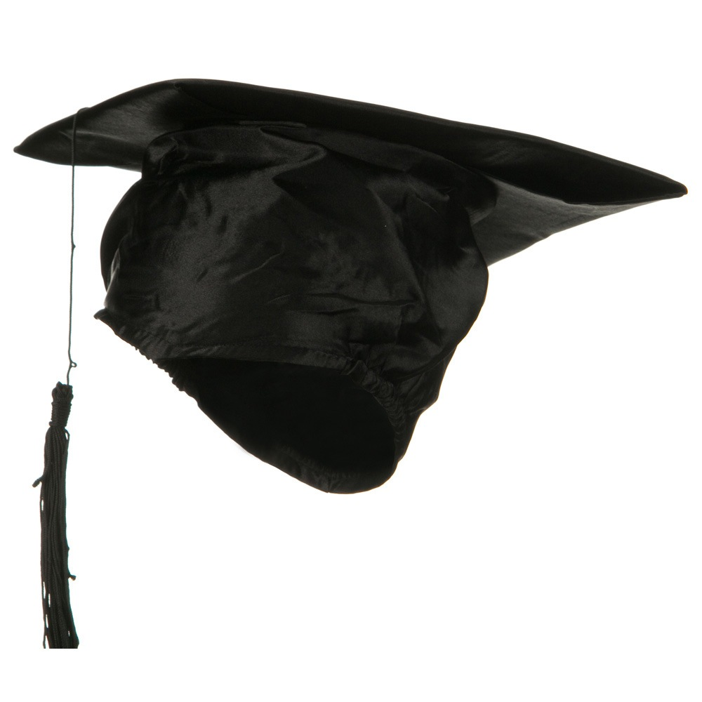 Graduation Hat - Black - Hats and Caps Online Shop - Hip Head Gear
