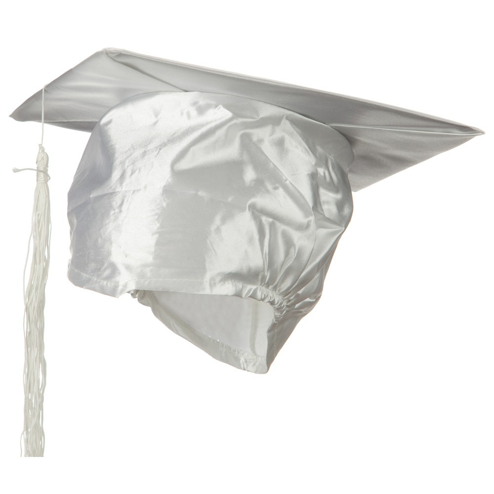 Graduation Hat - White - Hats and Caps Online Shop - Hip Head Gear