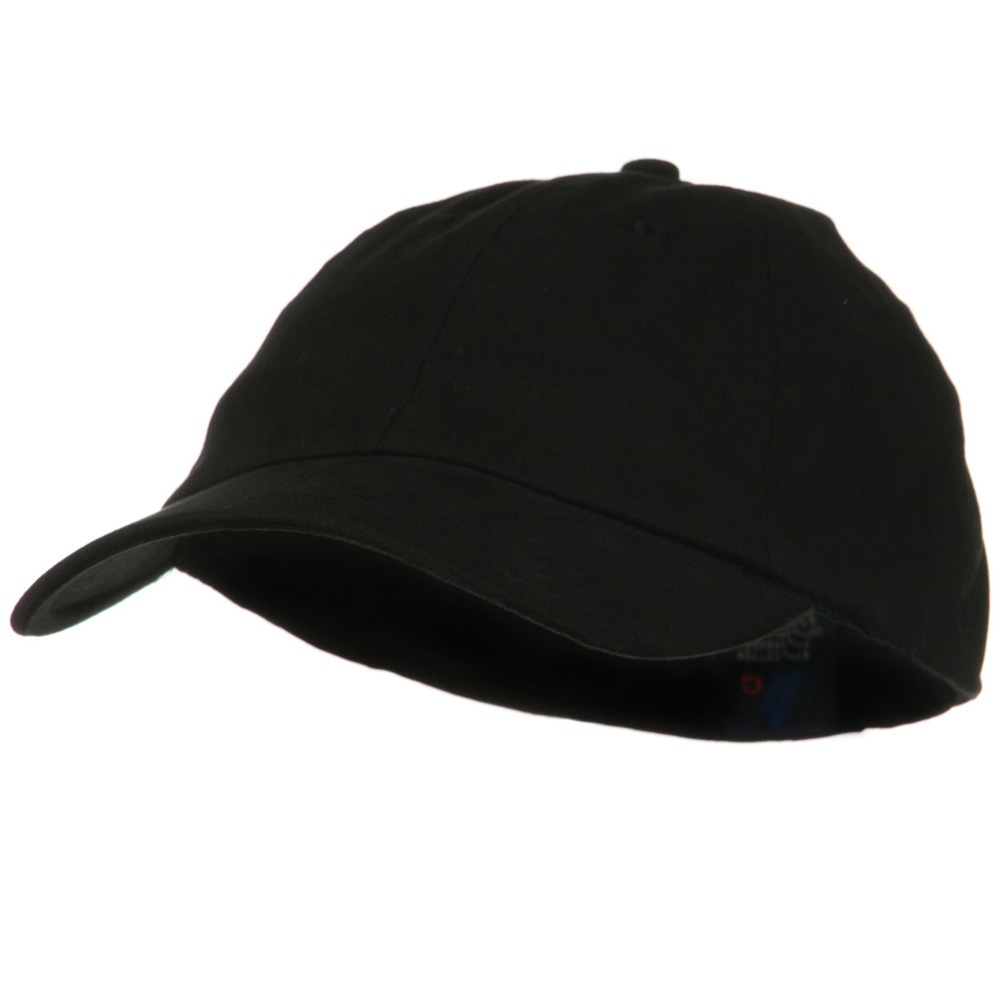 Light Brush Twill Fitted Cap - Black - Hats and Caps Online Shop - Hip Head Gear