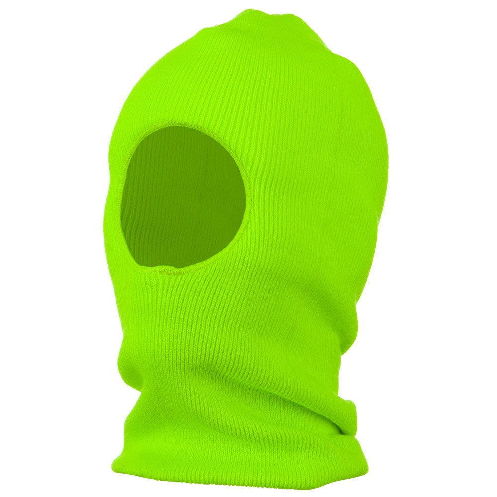 One Hole Thinsulate Face Mask - Neon Green - Hats and Caps Online Shop - Hip Head Gear