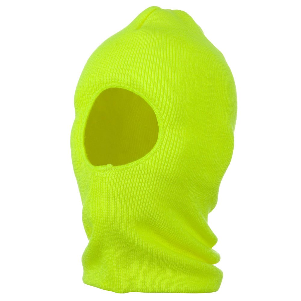 One Hole Thinsulate Face Mask - Neon Yellow - Hats and Caps Online Shop - Hip Head Gear