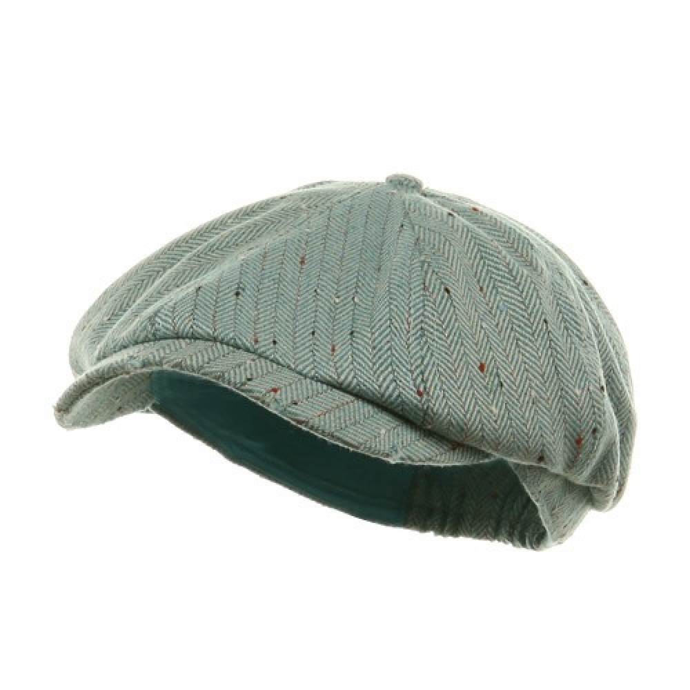 Herringbone Casquette Cap-Blue - Hats and Caps Online Shop - Hip Head Gear