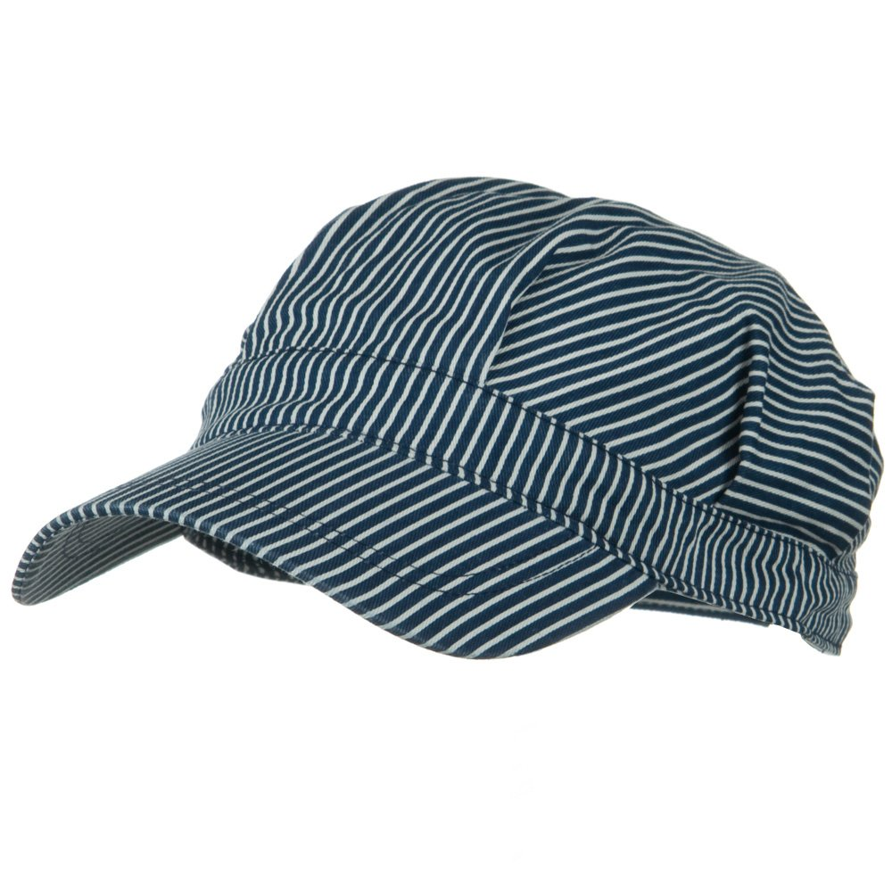 Conductor's Cap-Blue White - Hats and Caps Online Shop - Hip Head Gear