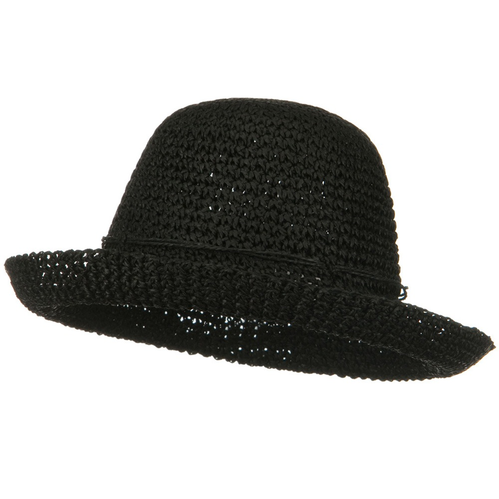 Toyo Roller Self Tie Hat - Black - Hats and Caps Online Shop - Hip Head Gear
