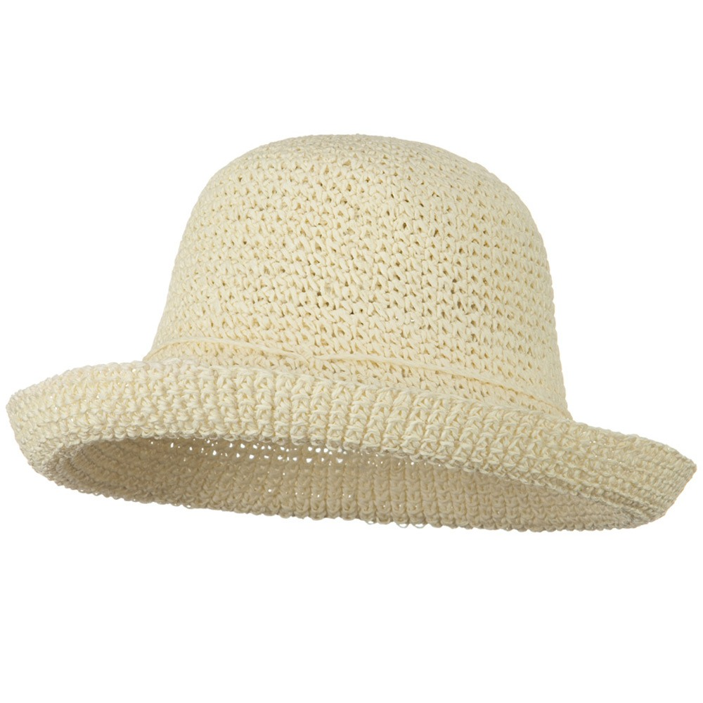 Toyo Roller Self Tie Hat - Ivory - Hats and Caps Online Shop - Hip Head Gear